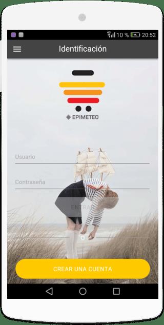 Inicio de sesión desde el app