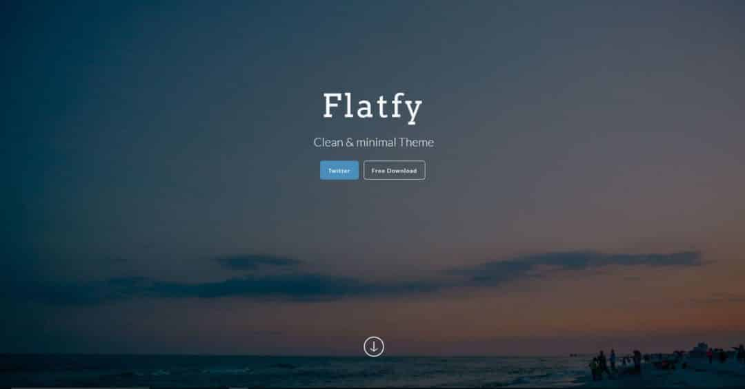Flatfy plantillas html5 gratis