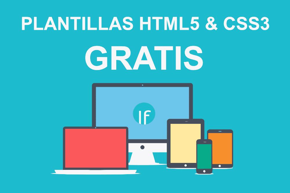 10 Plantillas Gratis HTML5 y CSS3 listas para descargar
