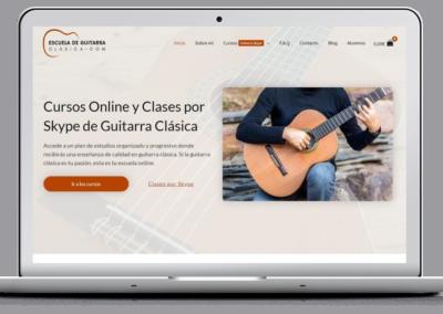 Web de formación guitarra clásica
