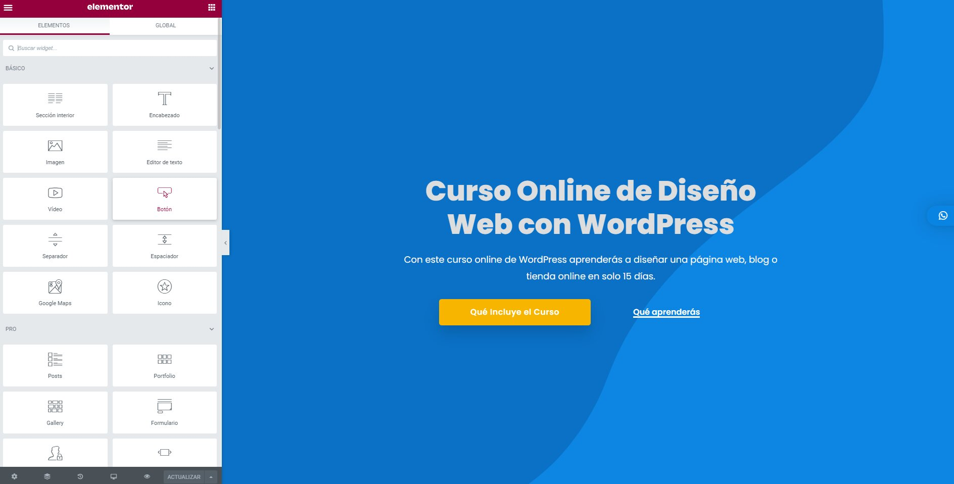 Aula WordPress Curso Online